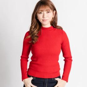 ニット・セーター - WEGO【WOMEN】 リブハイネックセ-タ- BS17WN12-L006