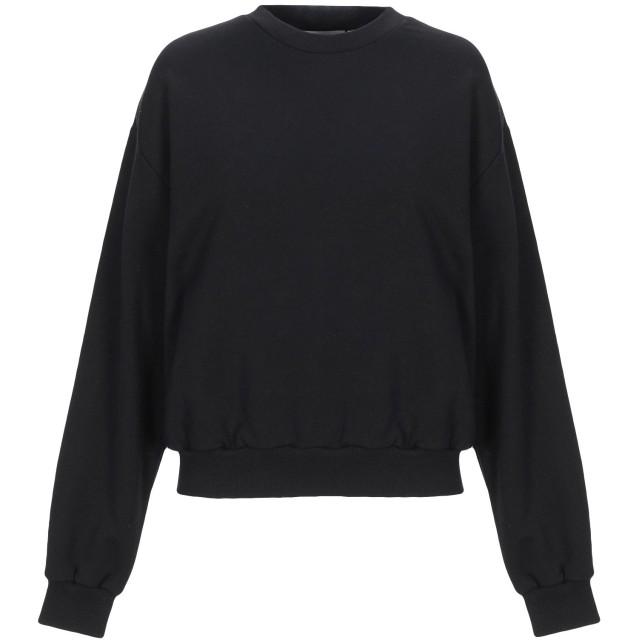 《セール開催中》CHEAP MONDAY レディース スウェットシャツ ブラック XS コットン 97% / ポリウレタン 3%