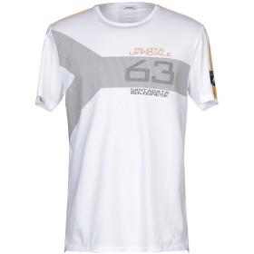 《期間限定 セール開催中》AUTOMOBILI LAMBORGHINI メンズ T シャツ ホワイト XS コットン 100%