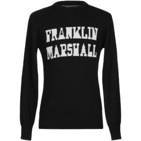 《期間限定セール開催中!》FRANKLIN & MARSHALL メンズ プルオーバー ブラック M アクリル 75% / ウール 15% / 毛(アルパカ) 10%