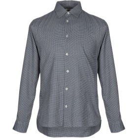 《期間限定セール開催中!》ALTEA メンズ シャツ ライトグレー S コットン 100%
