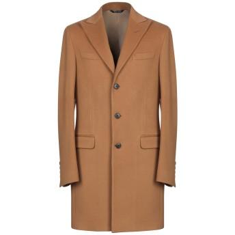 《9/20まで! 限定セール開催中》BRIAN DALES メンズ コート キャメル 52 ウール 90% / ナイロン 10%