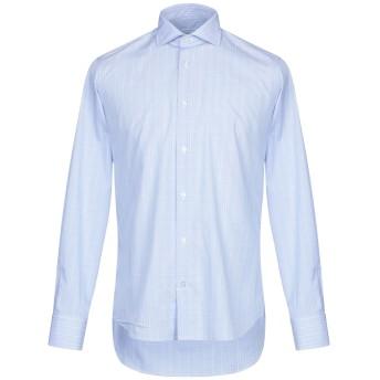 《期間限定セール開催中!》ALESSANDRO BONI メンズ シャツ スカイブルー 39 コットン 100%