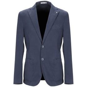 《期間限定 セール開催中》MANUEL RITZ WHITE メンズ テーラードジャケット ブルー 50 コットン 98% / ポリウレタン 2%