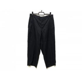 【中古】 ミズイロインド mizuiro ind パンツ サイズ2 M レディース 美品 黒
