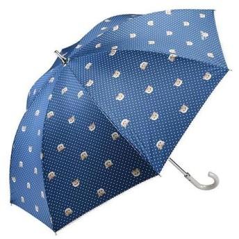 晴雨兼用長傘 ヌネット ネイビーブルー