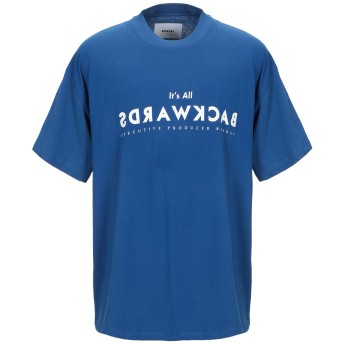 《9/20まで! 限定セール開催中》BONSAI メンズ T シャツ ブルー M コットン 100%
