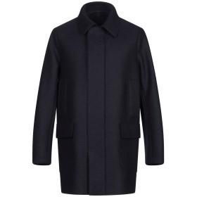 《期間限定 セール開催中》HARRIS WHARF LONDON メンズ コート ダークブルー 46 バージンウール 100%
