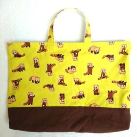 レッサーパンダの通園・通学バッグ