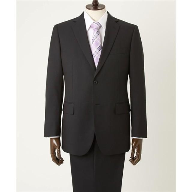 【紳士服】 洗えるアジャスター付スーツ(シングル2つボタン+ツータックパンツ) ビジネススーツ