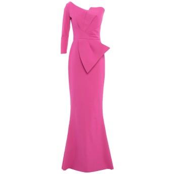 《セール開催中》CHIARA BONI LA PETITE ROBE レディース ロングワンピース&ドレス フューシャ 40 ナイロン 72% / ポリウレタン 28%