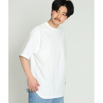 BEAMS / プレーティング 天竺 Tシャツ メンズ Tシャツ WHITE XL