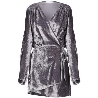 《期間限定セール開催中!》MARK SAILOR レディース ミニワンピース&ドレス 鉛色 40 ポリエステル 100%