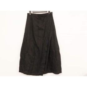 【中古】 トリココムデギャルソン tricot COMMEdesGARCONS ロングスカート サイズM レディース 黒 AD1997