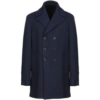 《9/20まで! 限定セール開催中》BRIAN DALES メンズ コート ダークブルー 46 ウール 70% / ナイロン 30%