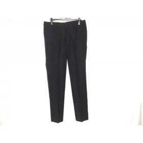 【中古】 トゥモローランド TOMORROWLAND パンツ サイズ48 XL メンズ 美品 ダークネイビー