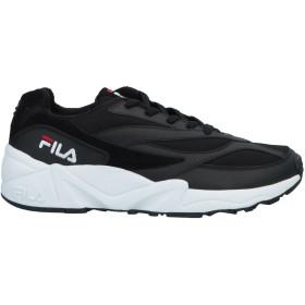《期間限定 セール開催中》FILA メンズ スニーカー&テニスシューズ(ローカット) ブラック 42 紡績繊維 / 革