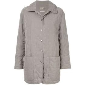 Hermès Pre-Owned ロングスリーブ コート - グレー