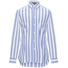 《期間限定セール開催中!》CALIBAN メンズ シャツ アジュールブルー 39 コットン 97% / ポリウレタン 3%
