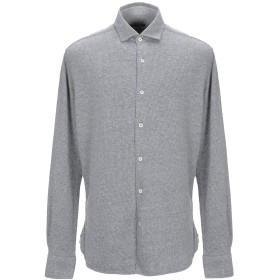 《期間限定 セール開催中》NAPAPIJRI メンズ シャツ グレー L コットン 100%