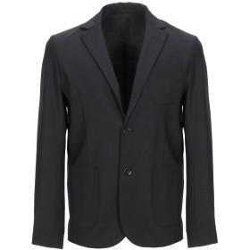 《期間限定セール開催中!》,BEAUCOUP メンズ テーラードジャケット ブラック 50 コットン 97% / ポリウレタン 3%