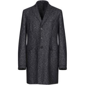 《9/20まで! 限定セール開催中》HARRIS WHARF LONDON メンズ コート ダークブルー 50 バージンウール 46% / レーヨン 40% / 麻 14%