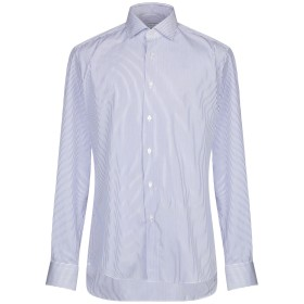 《期間限定セール開催中!》XACUS メンズ シャツ ブルー 43 コットン 100%