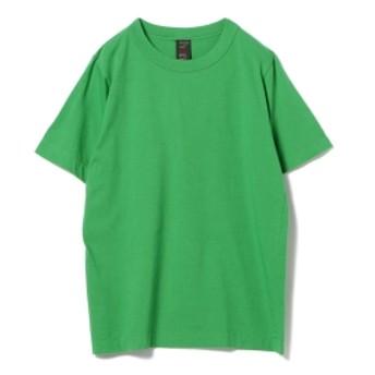 <MEN>homspun / 天竺 半袖 Tシャツ 18AW メンズ Tシャツ GREEN S