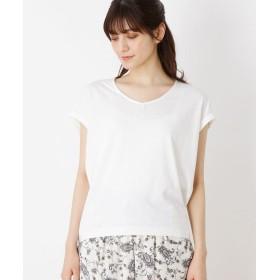 Tシャツ - grove 【WEB限定サイズあり】洗える汗じみ防止変形ノースリプルオーバー