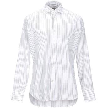 《セール開催中》CALIBAN メンズ シャツ ホワイト 39 コットン 100%