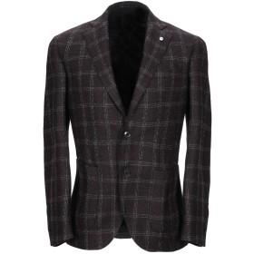 《期間限定セール開催中!》BRANDO メンズ テーラードジャケット ブラウン 48 ウール 86% / ポリエステル 14%