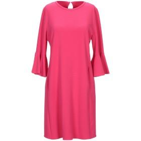 《期間限定 セール開催中》MARELLA レディース ミニワンピース&ドレス フューシャ 38 ポリエステル 67% / レーヨン 29% / ポリウレタン 4%