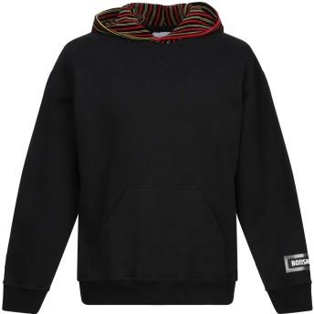 《期間限定セール開催中!》BONSAI メンズ スウェットシャツ ブラック M コットン 100%