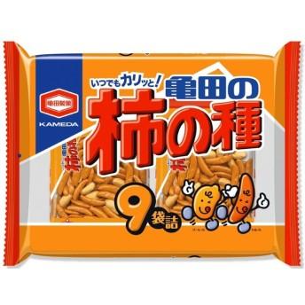 ■亀田製菓 亀田の柿の種 9袋