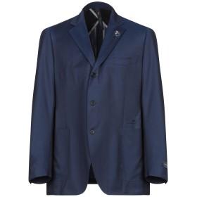 《セール開催中》TOMBOLINI メンズ テーラードジャケット ブルー 56 ウール 100%