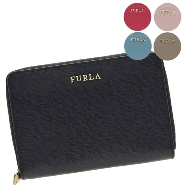 クーポン利用可能!FURLA フルラ ラウンドファスナー折り財布 pt16