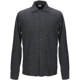 《9/20まで! 限定セール開催中》XACUS メンズ シャツ スチールグレー 39 コットン 100%
