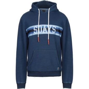 《セール開催中》SDAYS メンズ スウェットシャツ ダークブルー M コットン 100%