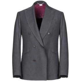 《セール開催中》MAURIZIO MIRI メンズ テーラードジャケット ブルーグレー 48 ウール 100%