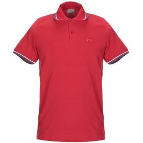 《期間限定セール開催中!》LOTTO メンズ ポロシャツ レッド S コットン 100%