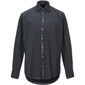 《期間限定セール開催中!》MASSIMO ALBA メンズ シャツ ディープパープル S コットン 100%