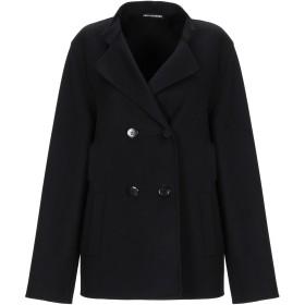 《セール開催中》TRIXI SCHOBER レディース テーラードジャケット ブラック 40 バージンウール 90% / カシミヤ 10%
