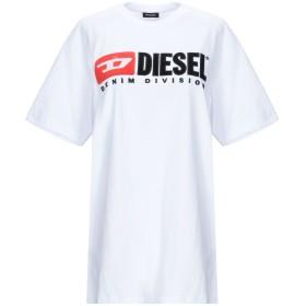 《期間限定 セール開催中》DIESEL レディース T シャツ ホワイト XXS コットン 100%