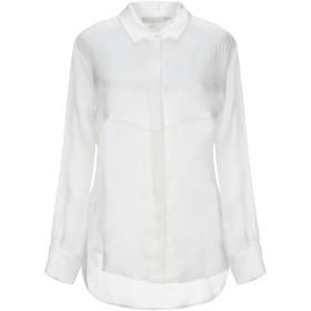《9/20まで! 限定セール開催中》L' AUTRE CHOSE レディース シャツ ホワイト 40 シルク 100%