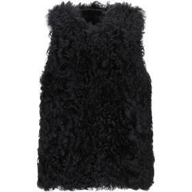 《期間限定 セール開催中》ENES レディース ブルゾン ブラック 38 羊革(ラムスキン) 100%