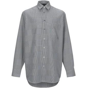 《期間限定セール開催中!》TUDES STUDIO メンズ シャツ ブラック 44 ポリエステル 100%