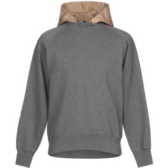 《期間限定セール開催中!》OBVIOUS BASIC メンズ スウェットシャツ グレー M コットン 100%