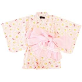 ベビーザらス限定 Barbie バービー 浴衣ワンピース(ピンク×80cm)