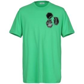 《期間限定 セール開催中》BIKKEMBERGS メンズ T シャツ グリーン S コットン 92% / ポリウレタン 8%