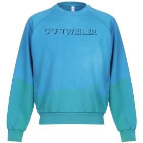 《9/20まで! 限定セール開催中》COTTWEILER メンズ スウェットシャツ アジュールブルー M コットン 100%